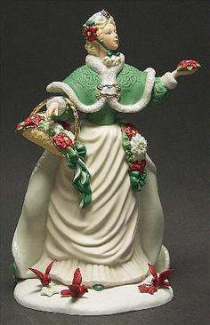 Princess Figurines   LENOX Christmas Princess-Figurine at Replacements, Ltd