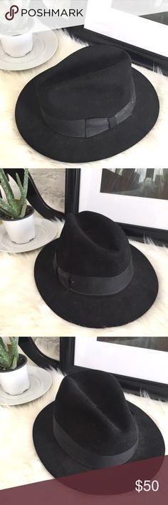 Hats in the Belfry  black felt bow hat Hats in the Belfry black felt 3172e0456210