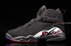 """more photos 85859 8fb50 Air Jordan 8 """"Playoffs"""" Jordan Viii, Best Basketball Shoes, Sneaker  Magazine,"""
