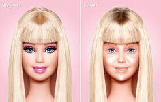 Barbie No MakeUp.... LMFAO!