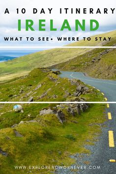 Click here for a detailed 10 day Ireland itinerary! What to see, where to stay, eat, and hear traditional Irish music. #irelanditinerary #irelandtravel #irelandvacation #irelandphotography #10daysinireland