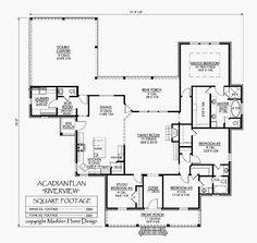 Madden home design riverview - House design plans