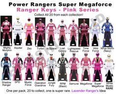 I searched for Power Rangers Super Megaforce green ranger keys images on Bing and found this from http://lavenderranger.deviantart.com/art/Power-Ranger-Keys-Pink-Set-Proposal-338882508