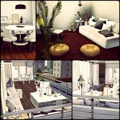 Simberry Apartment 4D / Sims 3 / Download