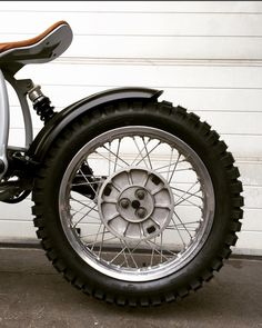 Vagabond Moto R80ST rear fender detail