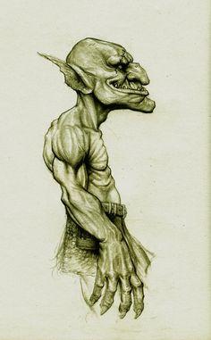 Goblin by Kimsuyeong81.deviantart.com on @DeviantArt