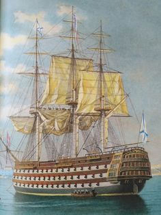 Poder Naval, Marine Francaise, Pirate Boats, Old Sailing Ships, Hms Victory, Ship Of The Line, Ship Paintings, Man Of War, Wooden Ship