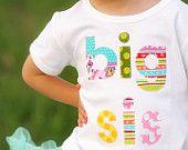 Big Sister Shirt Applique