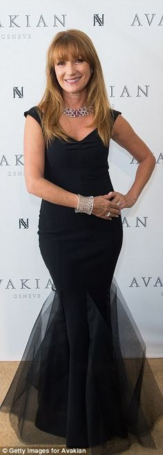 All that glitters... Jane Seymour looked like she was having a whale of a time when shevi...