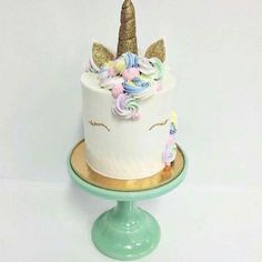 This New Unicorn Cake Trend Is Pure Rainbow Magic | Brit + Co
