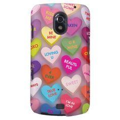 Candy Hearts Phone Case Samsung Galaxy Nexus Case