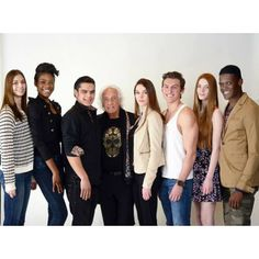 It's time! Meet our #mariomakemeamodel semi finalists! (Photo cred: Matt Ferguson)