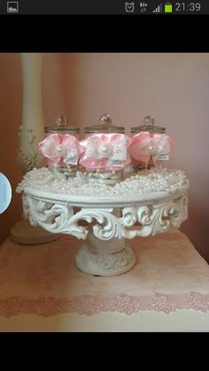 "Tray Decoration For Baby Girl Entrancing Keepsake Favor Box That Also Doubles As A ""tray"" For Favors  Baby Decorating Inspiration"
