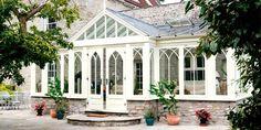 Hardwood conservatory by David Salisbury Conservatories