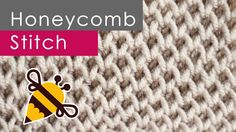 How to Knit the Honeycomb Brioche Stitch Easy Free Knitting Pattern + Video Tutorial with Studio Knit