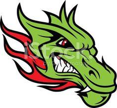 dragon head illustration - Google Search