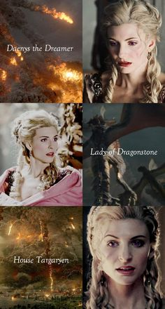 Daenys Targaryen, called Daenys the Dreamer, was the daughter of Lord Aenar Targaryen, a nobleman from the Valyrian Freehold.