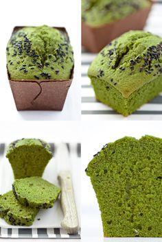 Mascarpone and matcha cake