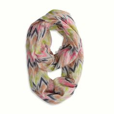 2/$20 AEO zig zag loop scarf $13 items 2/$20 Bundle discounts available. Sorry no trades  American Eagle Outfitters Accessories Scarves & Wraps