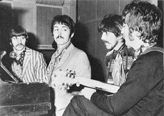 See The Beatles pictures, photo shoots, and listen online to the latest music. Great Bands, Cool Bands, Liverpool, My Love Paul Mccartney, Sgt Pepper, Beatles Photos, The Fab Four, Lonely Heart, Abbey Road