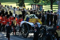 Princess Diana's funeral ~ September 6, 1997