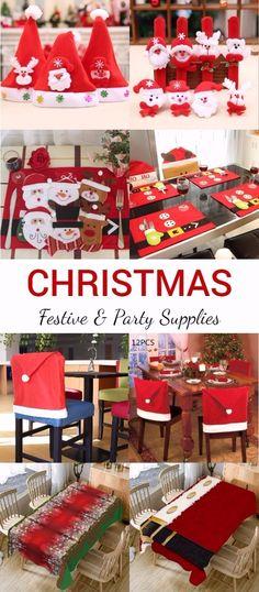 Christmas Festive & Party Supplies Ideas