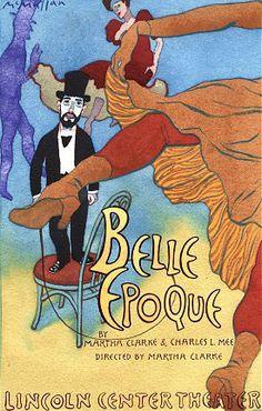 Belle Epoque poster featuring Toulouse Lautrec