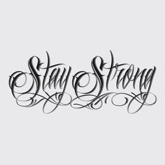 Stay strong!
