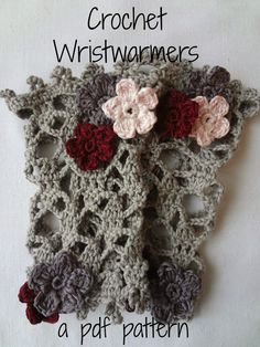 Little Treasures: Crochet Pattern for Lace Wrist Warmers