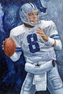 """Precision""- Dallas Cowboys QB Troy Aikman, oil painting by artist Justyn Farano. Dallas Cowboys Football, Dallas Cowboys Quotes, Dallas Cowboys Pictures, Cowboys 4, Football Art, Football Players, School Football, Fantasy Football, Pittsburgh Steelers"
