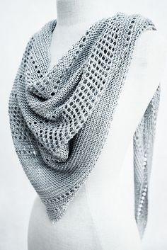 Ravelry: Ardent shawl with Kettle Yarn Co. ISLINGTON - knitting pattern by Janina Kallio.