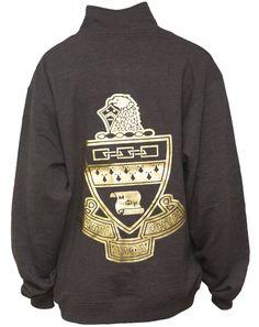 crest 1/2 zip sweatshirt