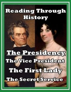 This is a three part unit by Reading Through History.  In this download, the history and various roles of the Vice Presidency, the First Lady,…