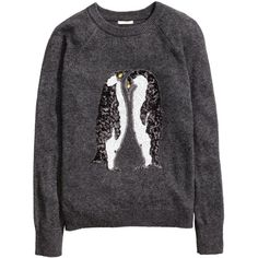 Sequined Sweater $19.99 ($20) ❤ liked on Polyvore featuring tops, sweaters, alpaca sweater, long sweaters, sequin top, long tops and raglan sweater