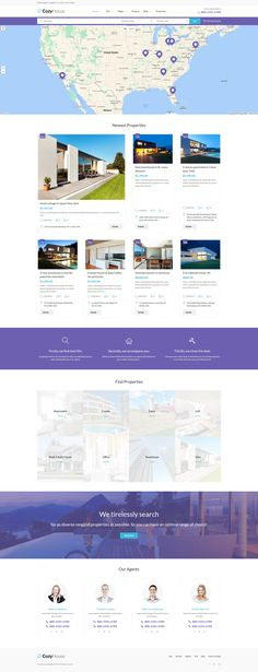 WordPress Theme , CozyHouse - Real Estate Premium
