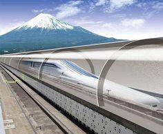 リニア新幹線では風景はあまり見られないそうです。