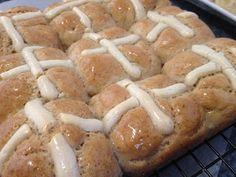 Kersten's Kitchen: Gluten Free, dairy free, Failsafe Hot Cross Buns