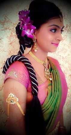 Swell Receptions Indian Bridal Hairstyles And Diy Hairstyles On Pinterest Hairstyles For Men Maxibearus