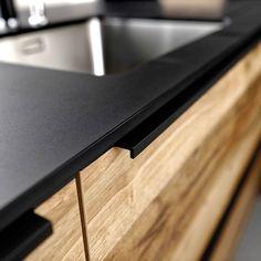 Supermat kjøkken med trefronter | Få inspirasjon til det nye kjøkken Schmidt, Home Kitchens, Interior, House, Modern Living, Handle, Home Decor, Design, Arches