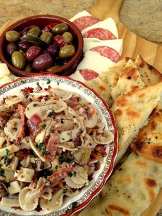 *Jennuine by Rook No. 17*: Muffuletta Pasta Salad ~ Take a Bite out of New Orleans with Hodgson Mill!