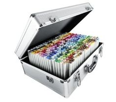 I REALLY wish!!!!  Copic Sketch Markers in Suitcase - Multicoloured (Pack of 358)
