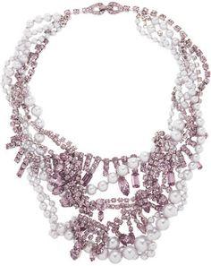 Tom Binns Regal Rocker Swarovski crystal necklace on shopstyle.com