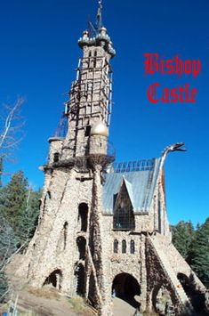 Bishop Castle in Colorado, - the only American Castle currently under siege.