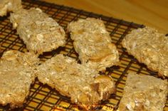 Cooking for Oscar: Chewy Muesli Bars
