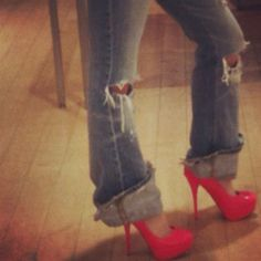 """""""Give a girl the right shoes and she can conquer the world""""-Marilyn Monroe <3"""" Now I know where it all comes from!! Lol"""