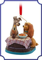 Lady and the Tramp Art of Disney Animation Monthly Ornaments, June 2016 | Disney Store