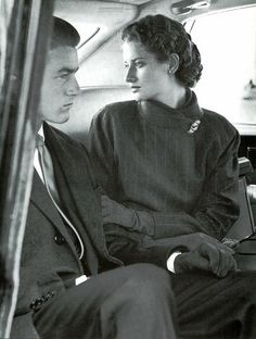 Polo Ralph Lauren Fall/Winter 1987/88. Photo by Bruce Weber. Models: Tim Easton and Isabelle Townsend.
