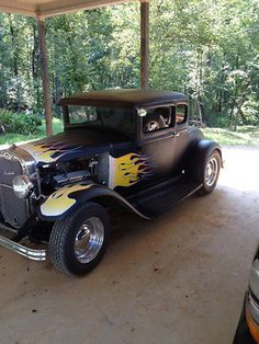 Ford : Other Coupe 1930 Ford Coupe Chopped Street Rod - http://www.legendaryfind.com/carsforsale/ford-other-coupe-1930-ford-coupe-chopped-street-rod/