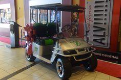 """""""Green Lightening"""" Custom Golf Cart"""