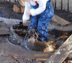 Puddle jumping closer